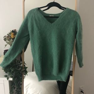 Madewell Wallace Rabbit Hair sweater